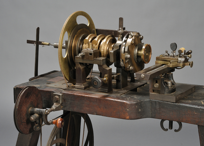 Rose Engine from the Shop of A. L. Breguet, Paris, France