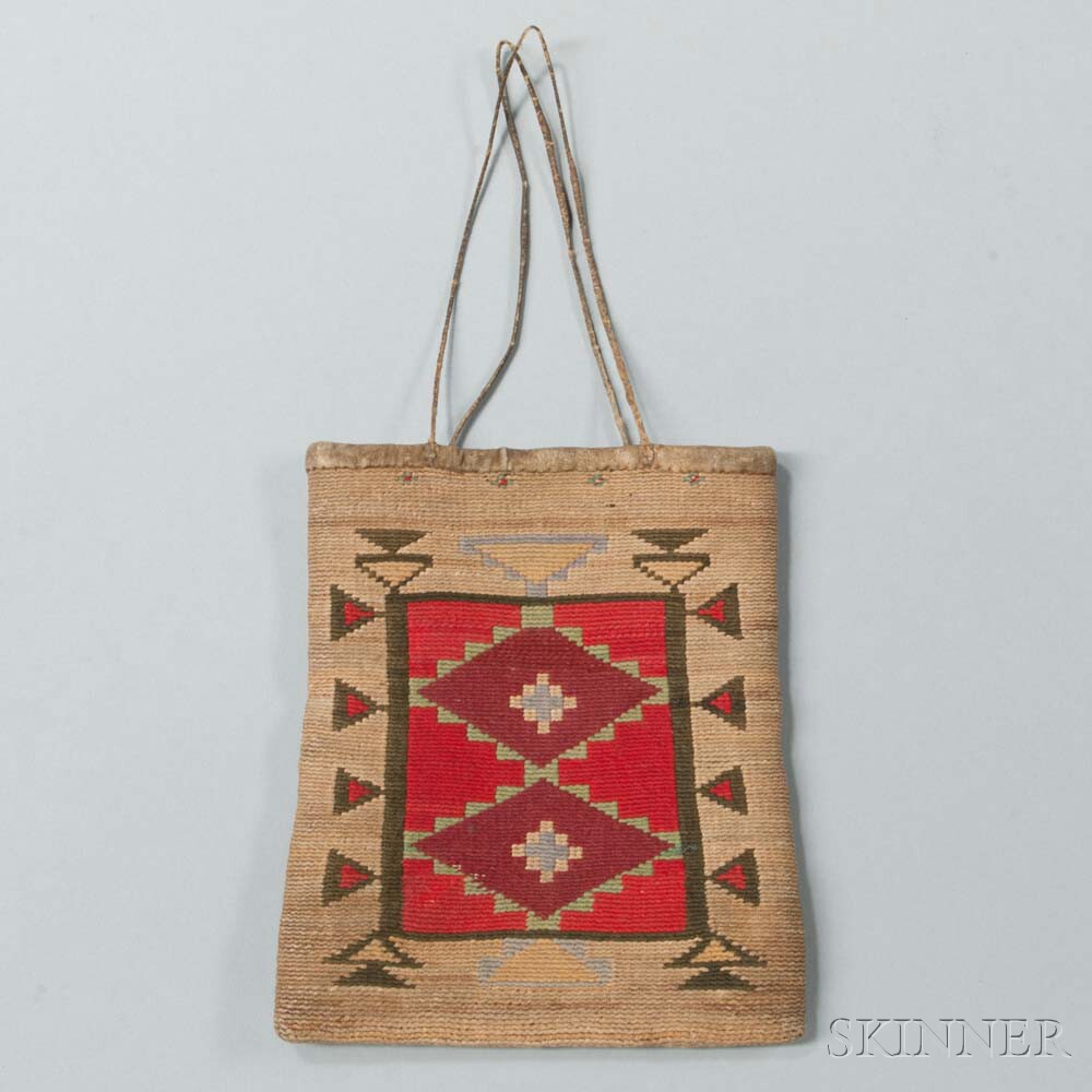 Small Plateau Cornhusk Bag