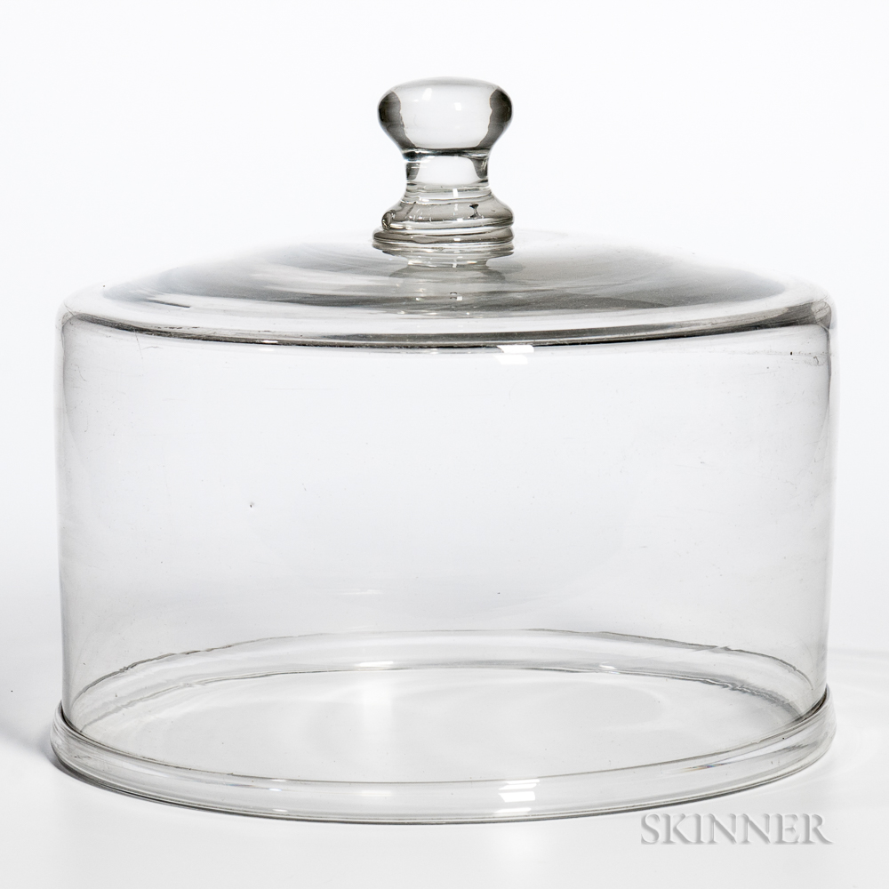 Large Blown Glass Dome