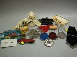 Group of Assorted 19th and 20th Century Jewelry, Accessories and Personal Items