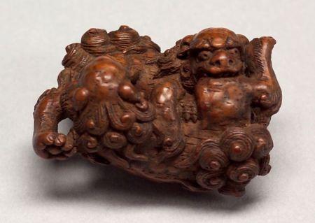 Carved Wooden Netsuke