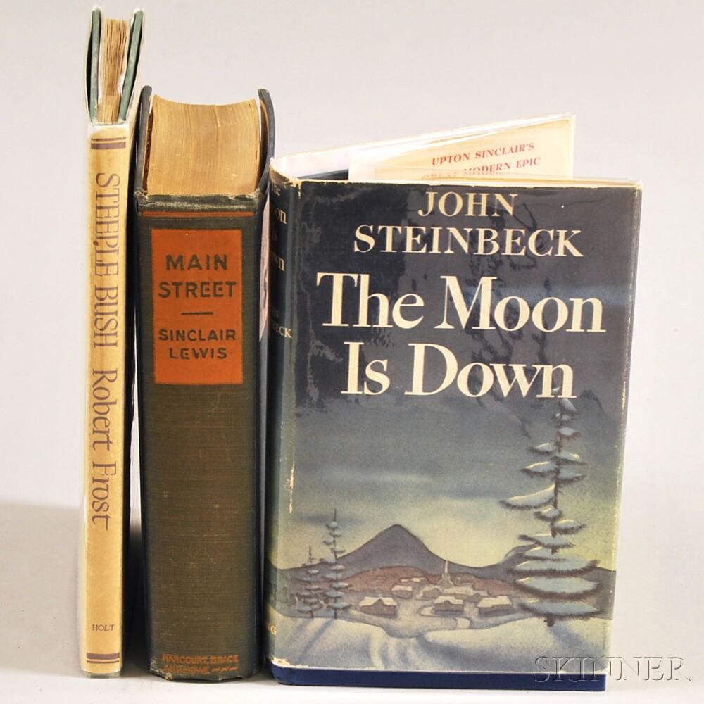 20th Century Literature, Three Volumes: