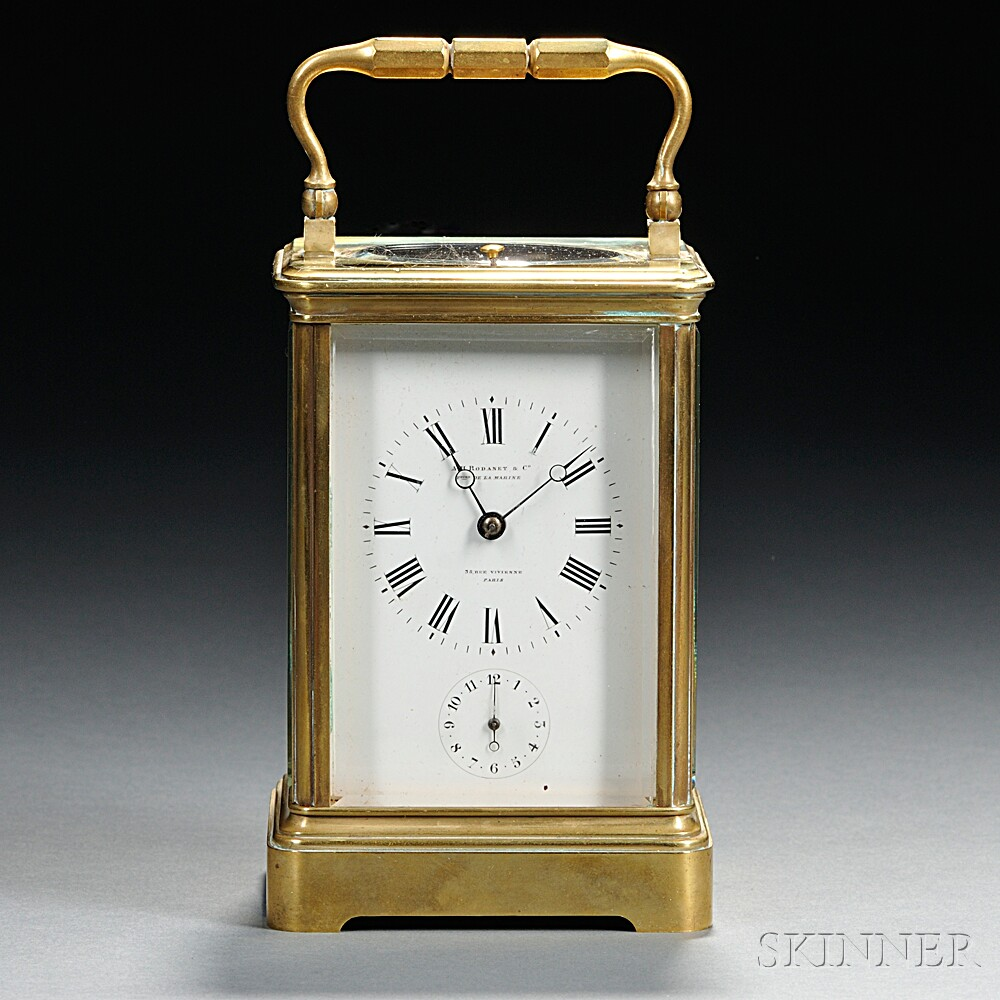 A. H. Rodanet Hour-repeating Carriage Clock