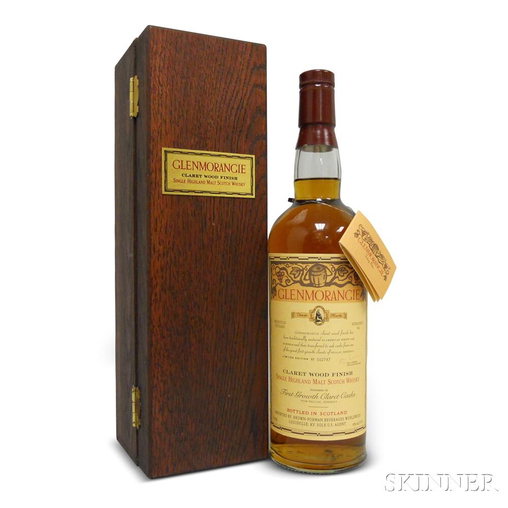 Glenmorangie Claret Wood Finish, 1 750ml bottle (owc)