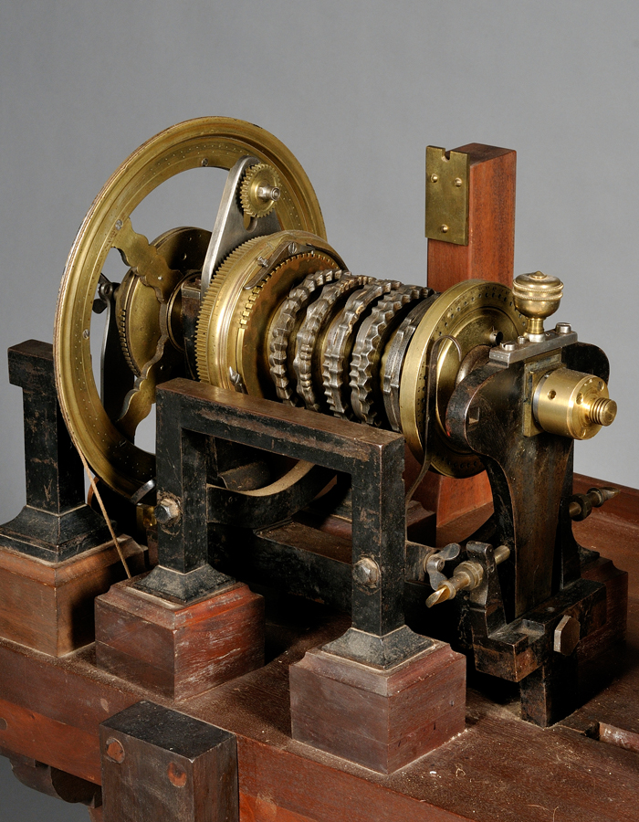 Brass and Steel Rose Engine