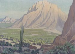 Robert Wood (American, 1889-1979)  Along the Little Colorado, Arizona
