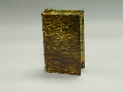Bennington Flint Enamel Pottery Book Flask. . .