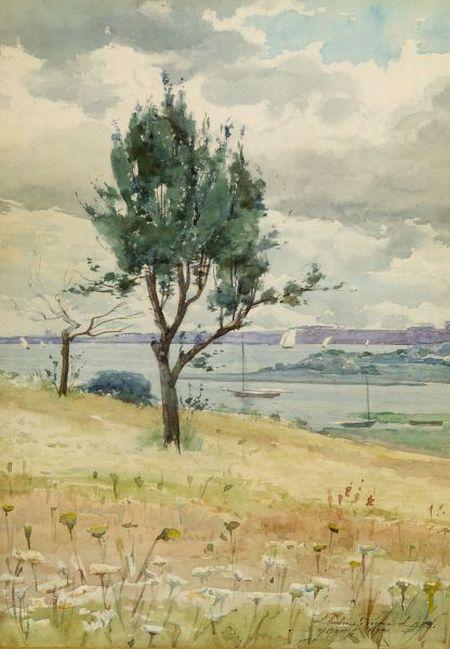 J. Ambrose Prichard (American, 1858-1905)    Duxbury Shore