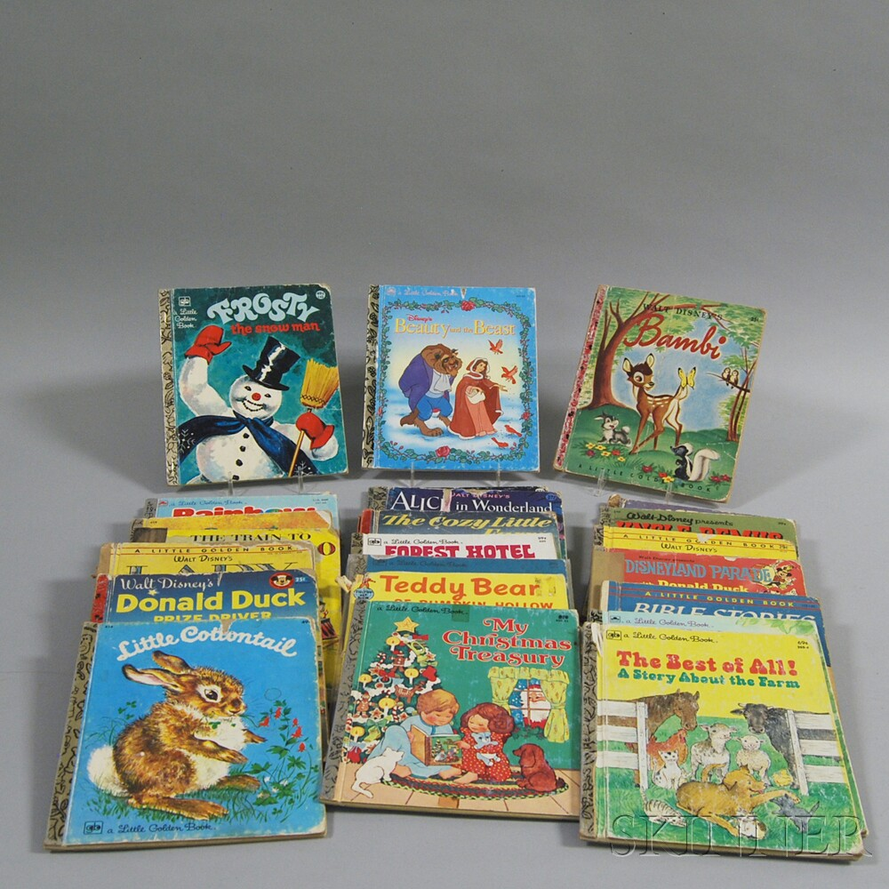 Twenty-four Little Golden and Other Children's Books