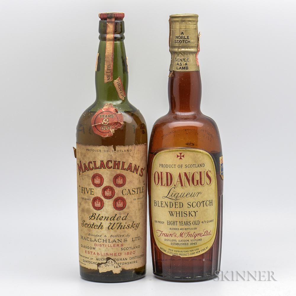 Mixed Blended Scotch, 2 4/5 quart bottles