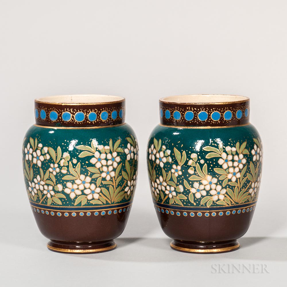 Pair of Wedgwood Marsden Art Ware Vases