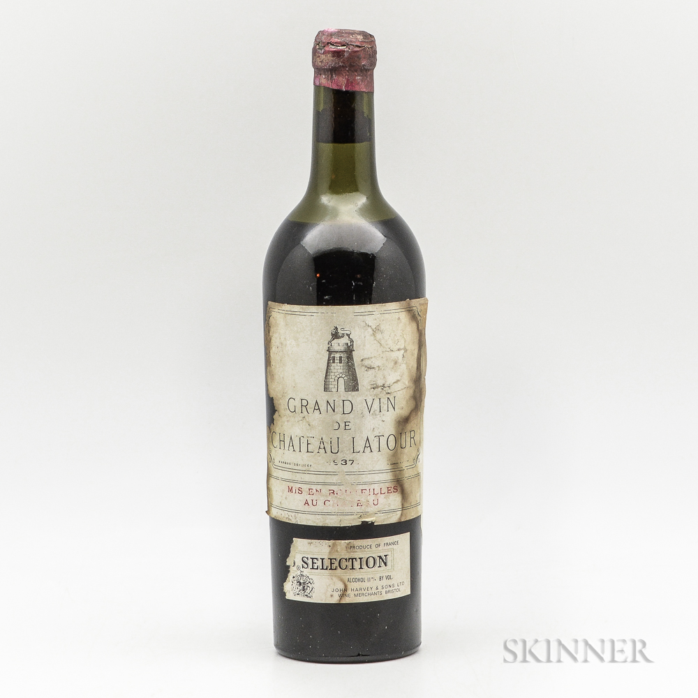 Chateau Latour 1937, 1 bottle