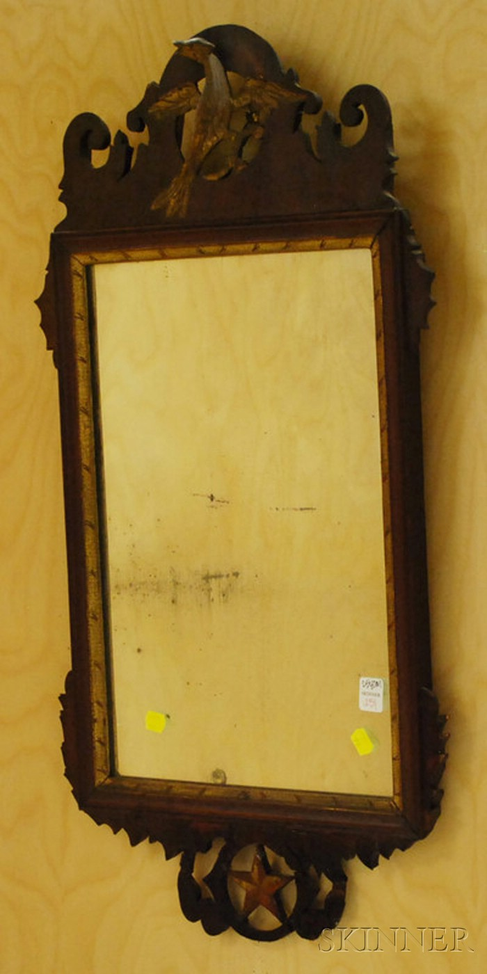 Chippendale Mahogany Mirror