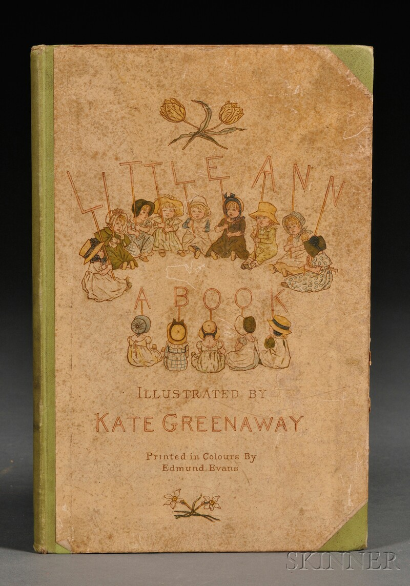 Greenaway, Kate, illus. (1846-1901), Jane and Ann Taylor.   Little Ann and Other Poems
