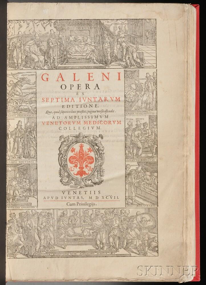Galen (130 AD-200 AD) Opera ex Septima Iuntarum Editione