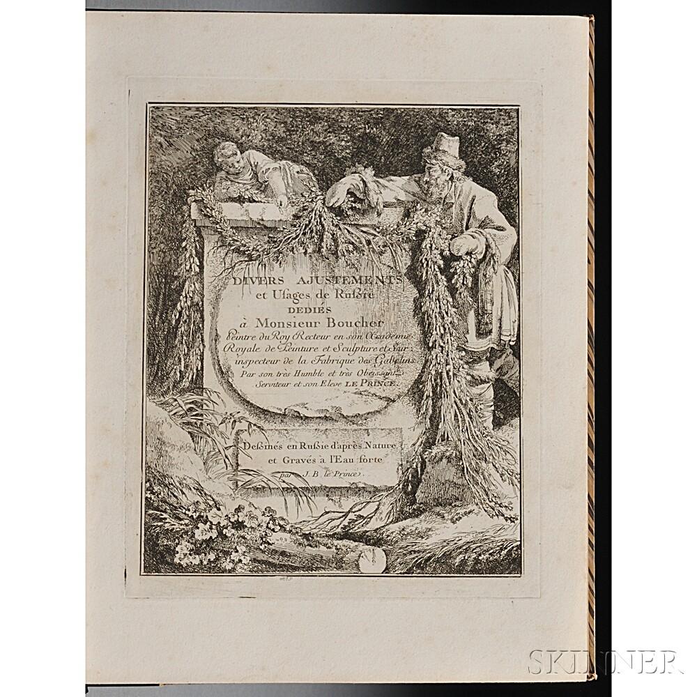 Le Prince, Jean Baptiste (1734-1781) Divers Ajustements et Usages de Russie.