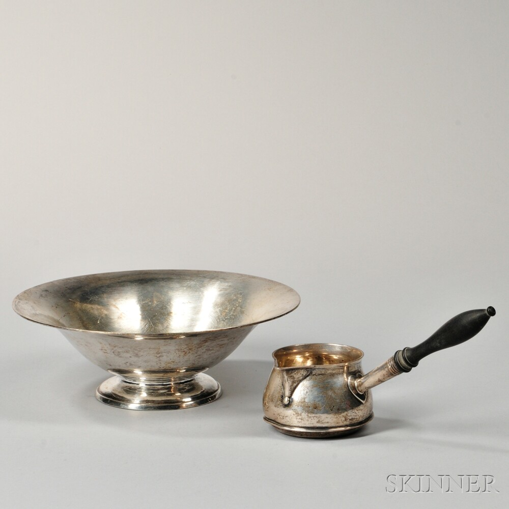 Two Pieces of American Arts and Crafts Tableware