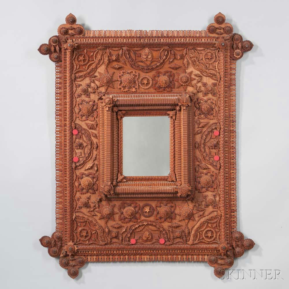 Folk Art Mirror