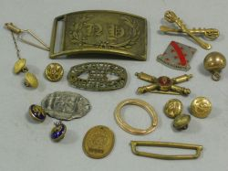 Group of U.S. Military and Foreign Regalia, Etc.