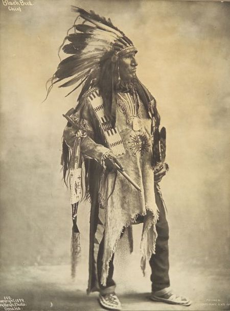 Framed Photograph of a Plains Indian