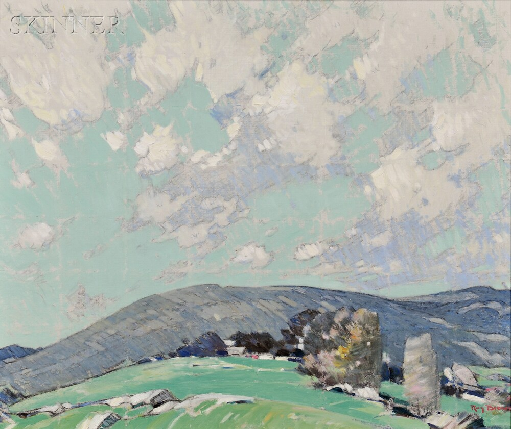 Roy Henry Brown (American, 1879-1956)      New Hampshire Hills