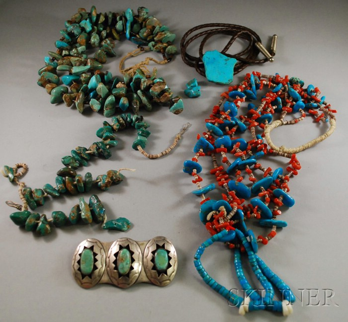Group of Southwest Silver Jewelry