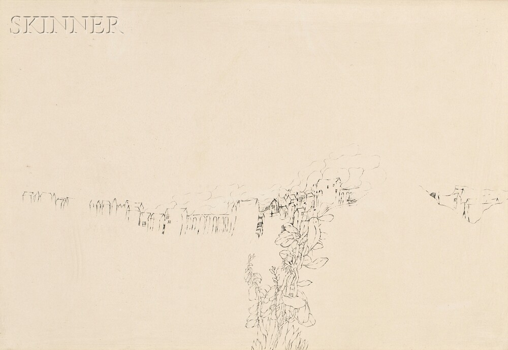 Varujan Boghosian (American, b. 1926)      After Brueghel