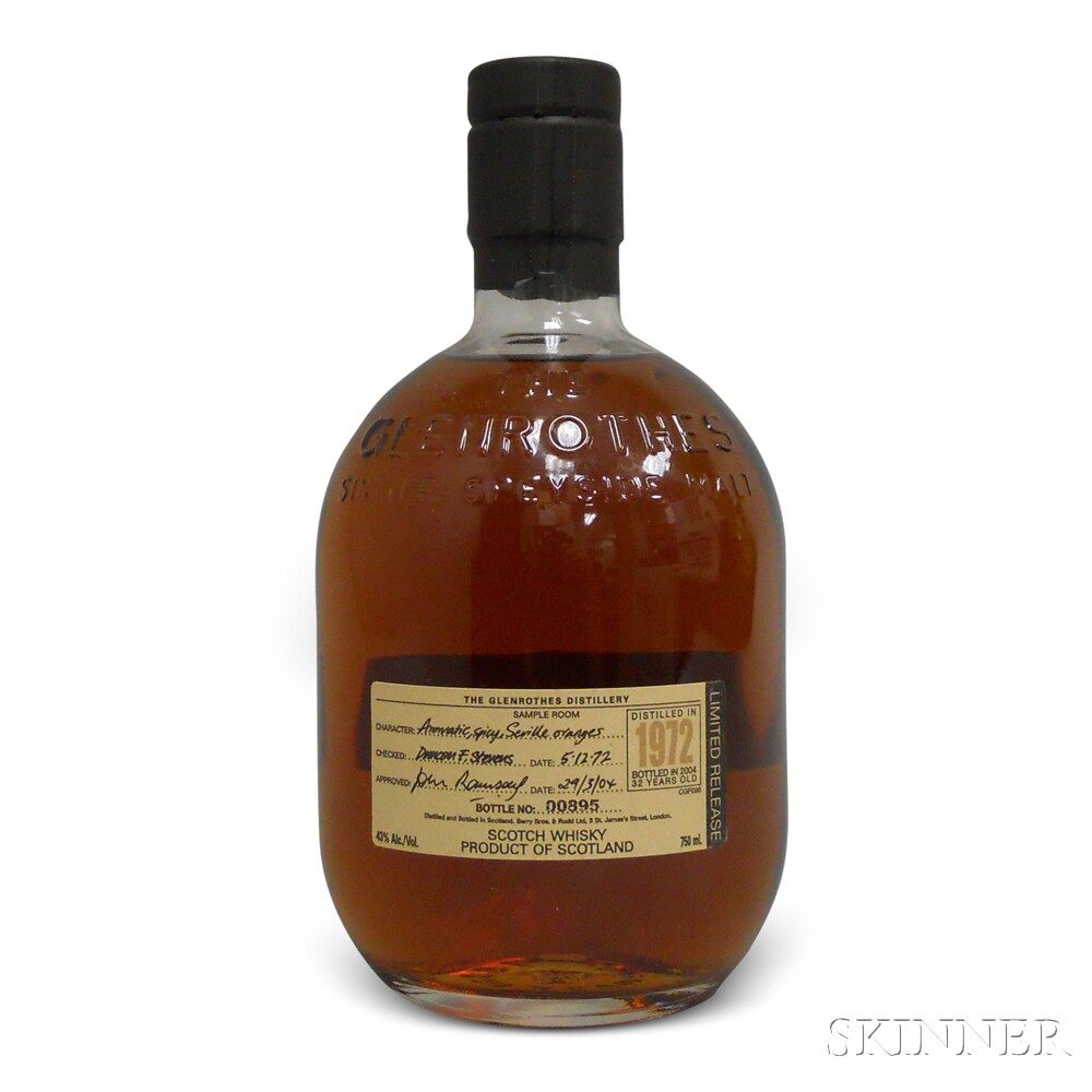 Glenrothes 32 Years Old 1972, 1 750ml bottle