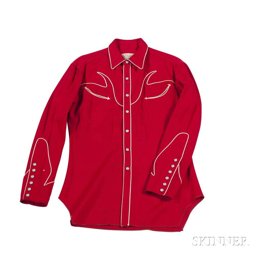Red Nudie Shirt