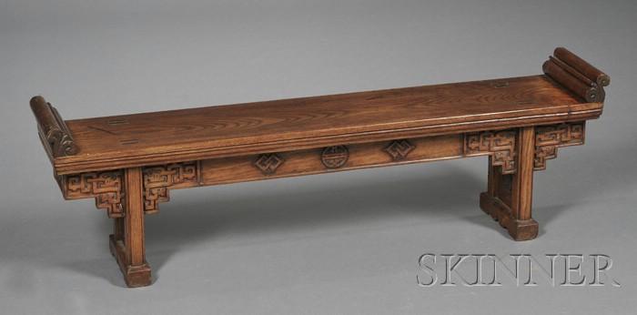 Chinese Elmwood Small Kang Table