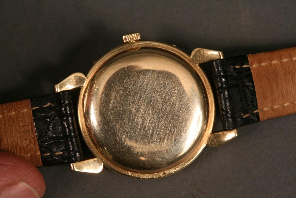 Movado 14kt Calendograph Wristwatch