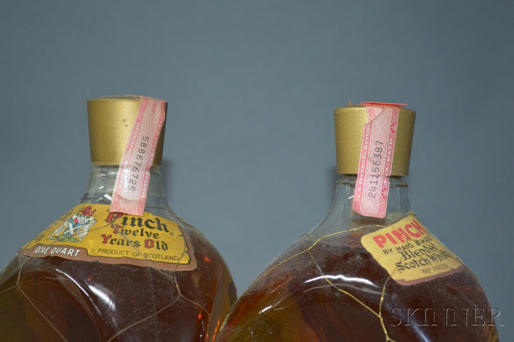 Mixed Haig & Haig, 3 4/5 quart bottles2 quart bottles1 750ml bottle