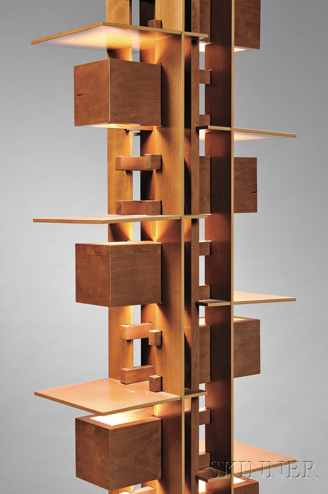 Wonderful Frank Lloyd Wright Taliesin Reproduction Lamp