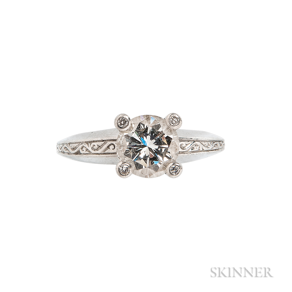 Platinum and Diamond Solitaire, Stephen Webster
