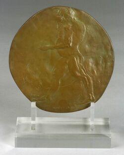 Leonard Baskin (American, 1922-2000)  Minotaur