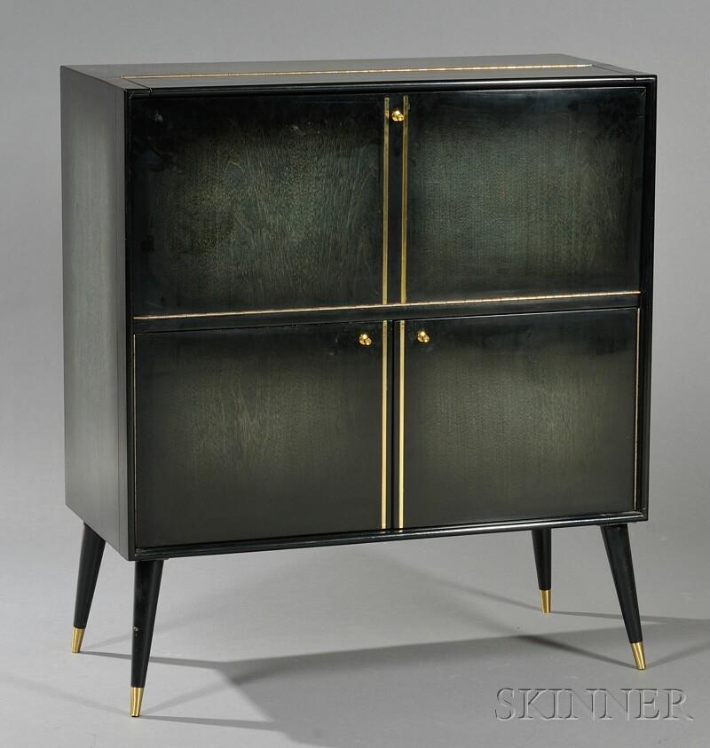 Mid-Century Modern Liquor Cabinet