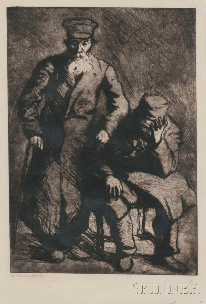 Hermann Struck (German, 1876-1944)      Homeless