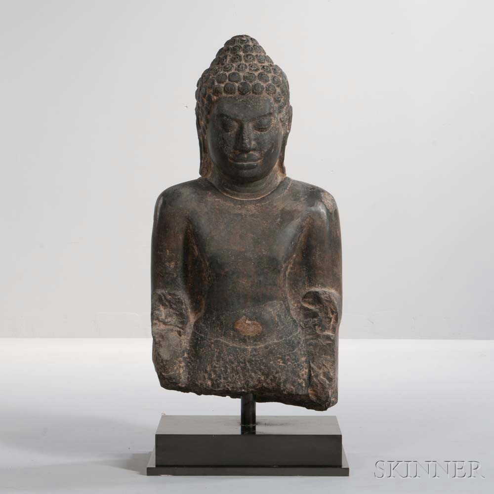 Thai Devarwadi Torso of Buddha