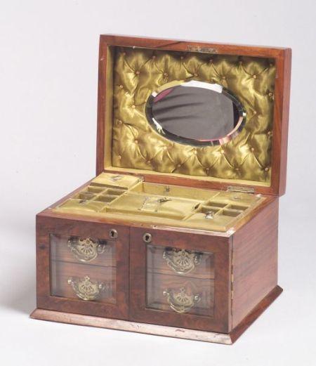 Victorian Coromandel Jewelry Box