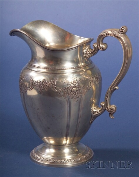 Gorham Sterling Classical Revival Pitcher