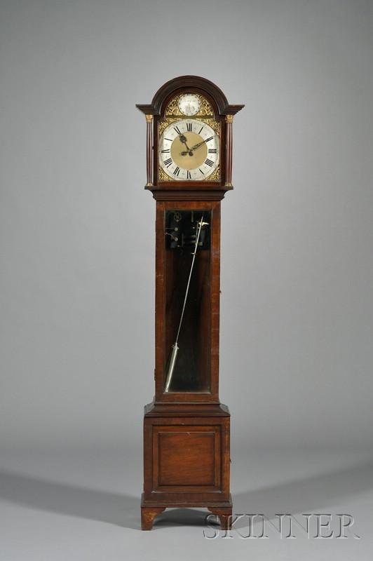 Mahogany Master Clock by the Synchronome Company, Ltd.