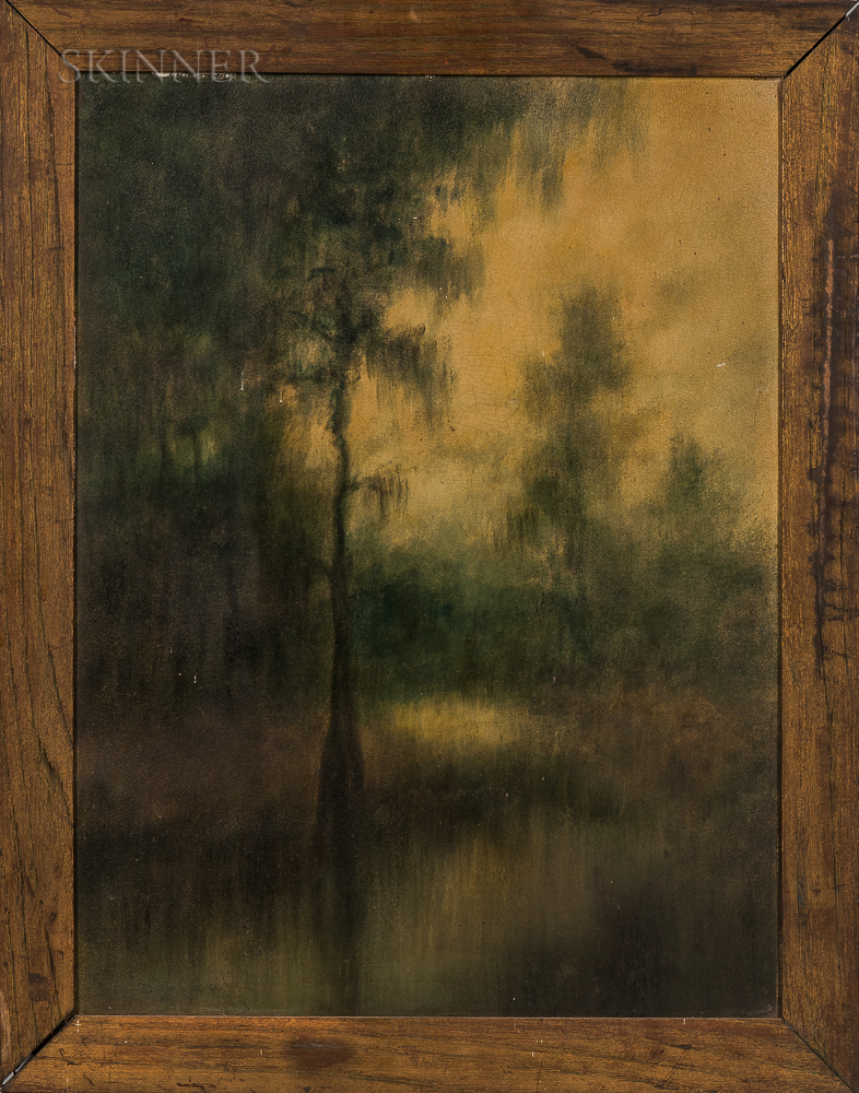Attributed to Alexander John Drysdale (American, 1870-1934)    Tree in the Louisiana Bayou
