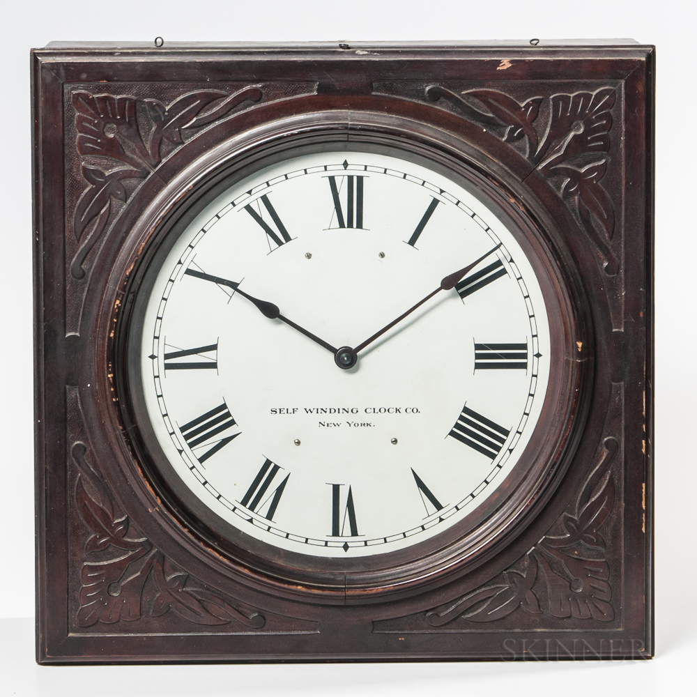 Self-Winding Clock Co. Wall Clock