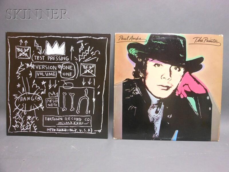 Jean-Michel Basquiat (American, 1960-1988)      Beat Bop. Test Pressing, Version One, Volume One