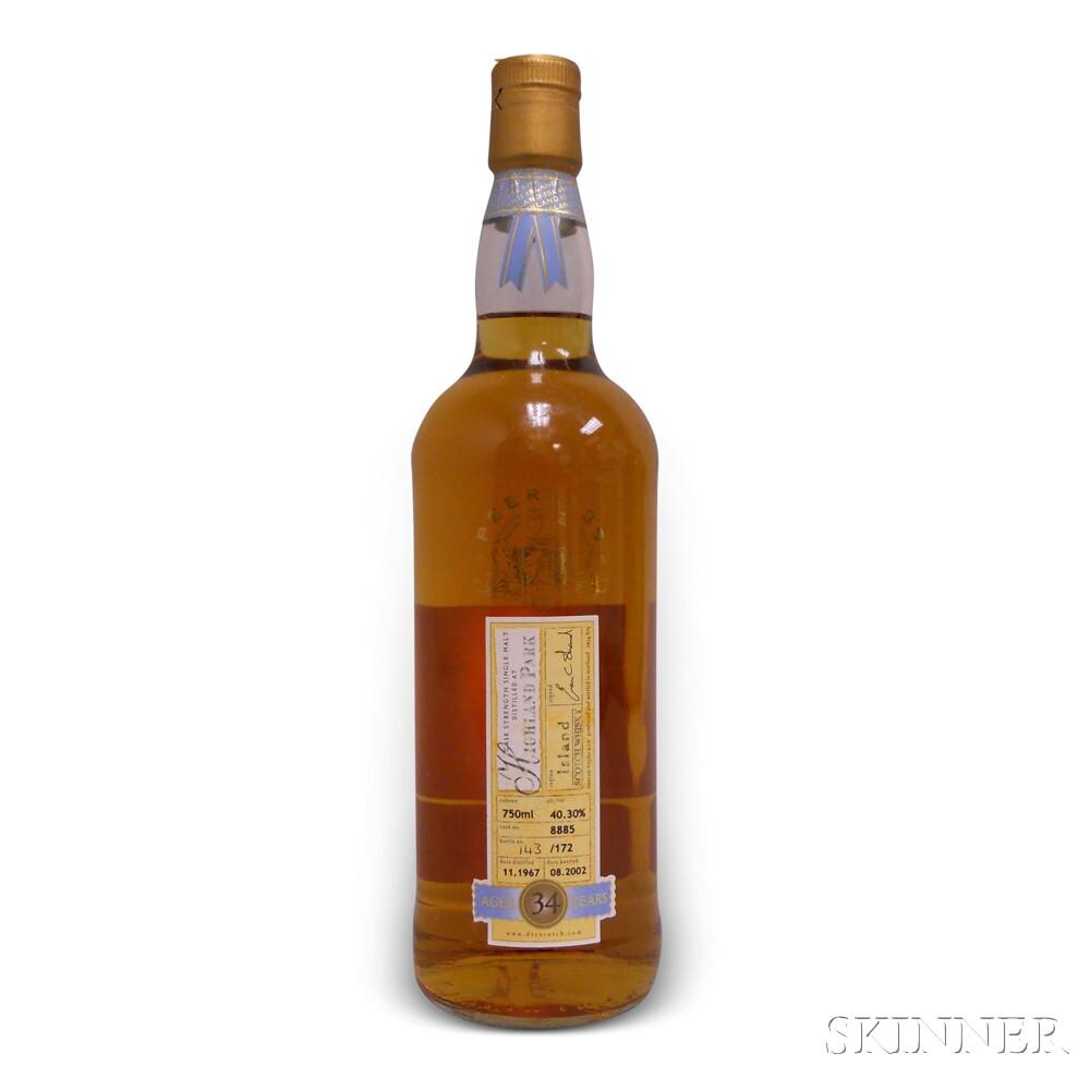 Highland Park 34 Years Old 1967, 1 750ml bottle