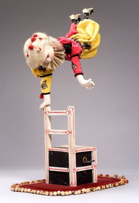 Roullet et Decamps Automaton of a Clown Equilibriste