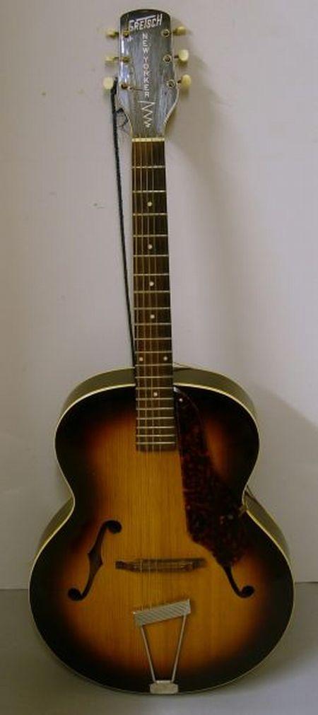 American Archtop Guitar, 1949, Gretsch Company, Brooklyn, Model New Yorker