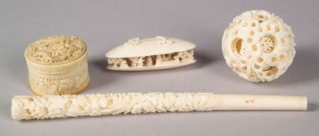 Four Ivory Carvings