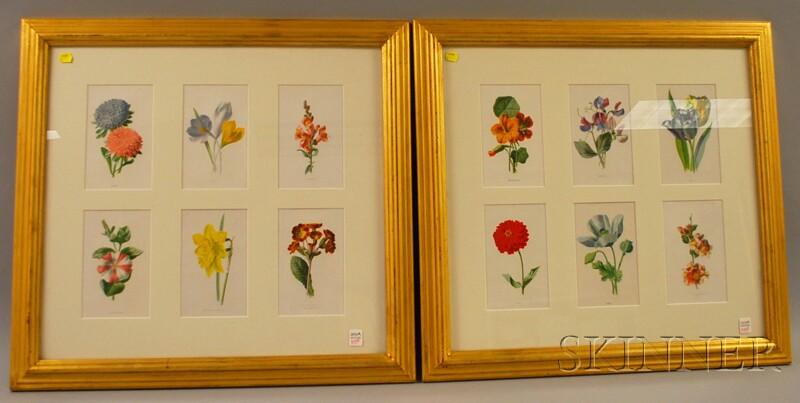 Four Assorted Framed Prints