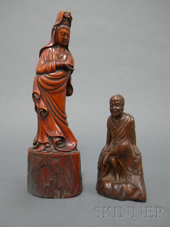 Two Wood Carvings